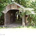 A covered bridge!